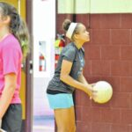 Young players gear up on the court