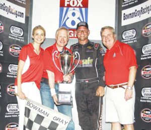 Myers Benefits from Other's Misfortune at Bowman Gray