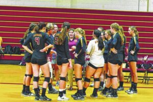 South Stokes volleyball wins over Elkin
