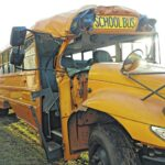 School bus wreck sends driver and students to hospital