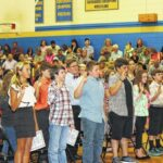 Chestnut Grove Middle holds ceremony