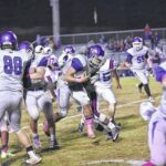 Wildcats rush by Falcons