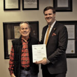Inman receives honor