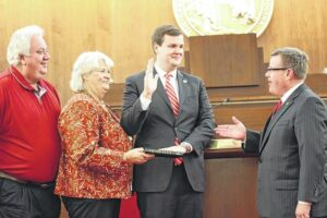 Hall sworn-in for first full term