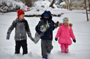 Snow blankets Stokes County
