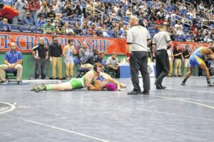 Lungrin places fourth, Fatz fifth at state championship