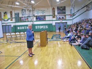 Talk it Out presented at North Stokes