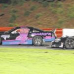 Holleman grabs win before storms hit at Bowman Gray