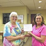 Walnut Cove Rotary makes donation to library
