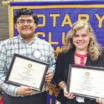 Stokes Early College High School Students Receive the King Rotary Club's Good Citizen Award