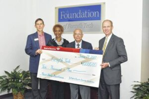 Forsyth Tech Community College receives grant from Bank of America Foundation