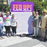 West Stokes club takes a stand at Fed Up Rally
