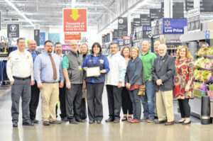 Chamber of Commerce recognizes Walmart