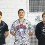 Vikings qualify three wrestlers for state