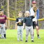 Sauras host free baseball camp