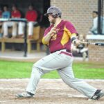 Sauras sweep conference opener