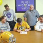 Manley signs to play football and baseball at Emory and Henry