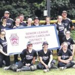 Softball team nabs districts