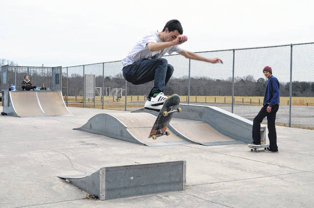 Skate park reopens for now | The Stokes News
