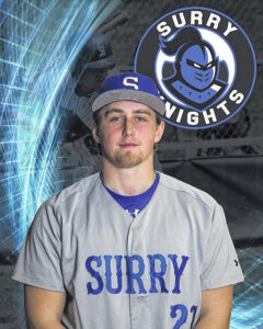 Surry's Roberts named National Player of the Week