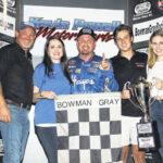 Brown welcomes victory at Bowman Gray