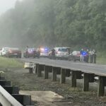Trooper dies in crash on I-77