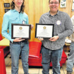 Stokes Early College students receive award from the Rotary Club of King