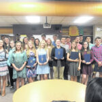 South Stokes students inducted into National Honor Society