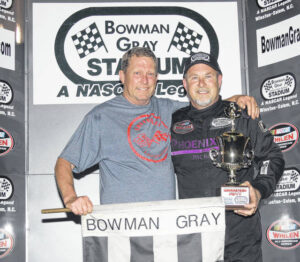 Jeffreys and Brown extend winning streaks at Bowman Gray