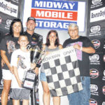 Burt Myers combines luck and skill to win at Bowman Gray