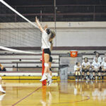 Sauras and Wildcats compete in volleyball scrimmages