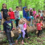 Groups mingle with nature at farm
