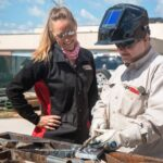 Welding classes include one for women