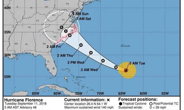 South Carolina Guard Prepares to Help During, After Hurricane Florence