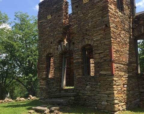 Col. Jack Martin finished construction of his Rock House around 1785, after his remarkable service in the Revolutionary War.