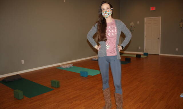 Randi Luzwick has opened the Wise Folk Yoga Studio in the Mickey & Co. building in downtown King.  Neill Caldwell |  The Stokes News